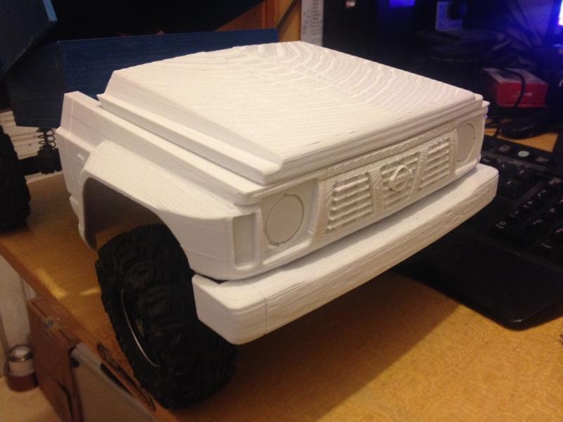 Axial SCX10 Nissan Patrol Y60 - ech:1/8 - Impression 3D Patrol-25