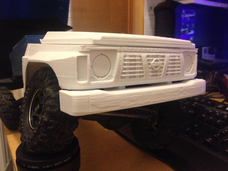 Axial SCX10 Nissan Patrol Y60 - ech:1/8 - Impression 3D Patrol-26
