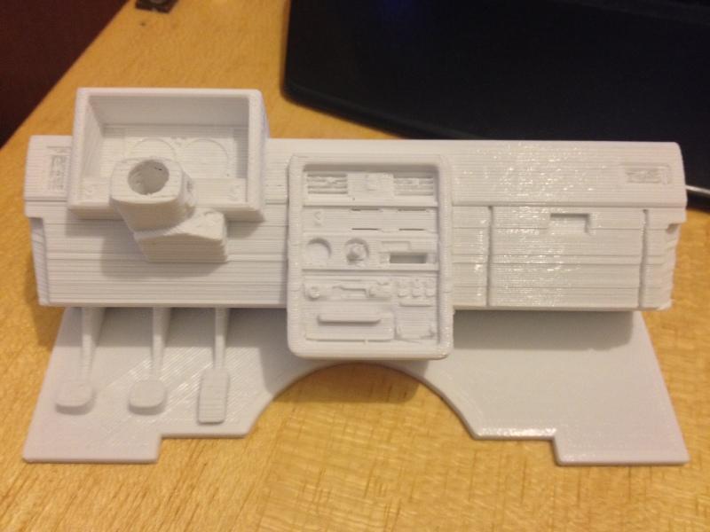 Axial SCX10 Nissan Patrol Y60 - ech:1/8 - Impression 3D Patrol-30