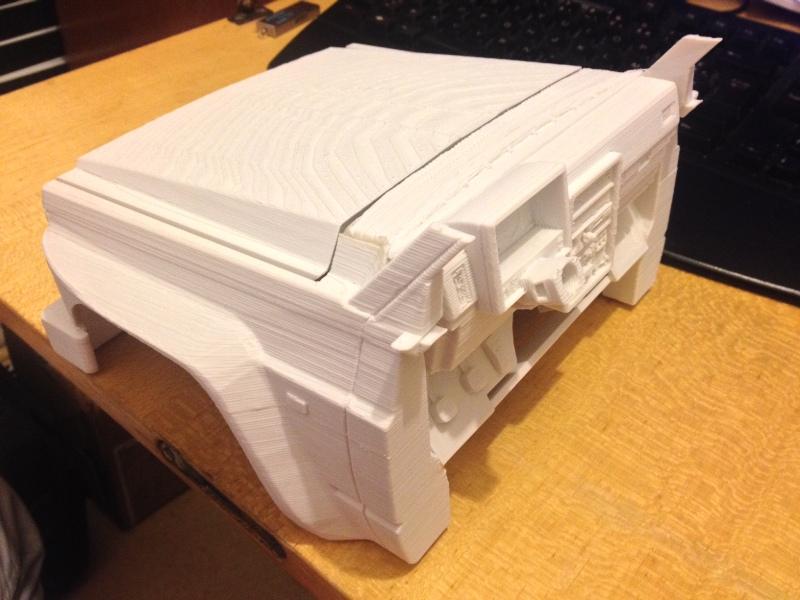 Axial SCX10 Nissan Patrol Y60 - ech:1/8 - Impression 3D Patrol-33