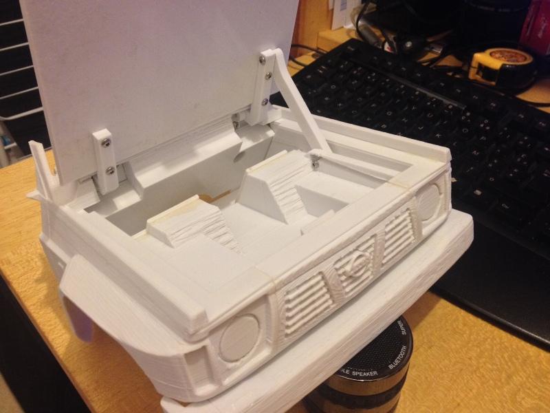 Axial SCX10 Nissan Patrol Y60 - ech:1/8 - Impression 3D Patrol-35
