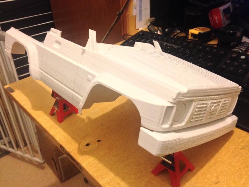 Axial SCX10 Nissan Patrol Y60 - ech:1/8 - Impression 3D Patrol-37