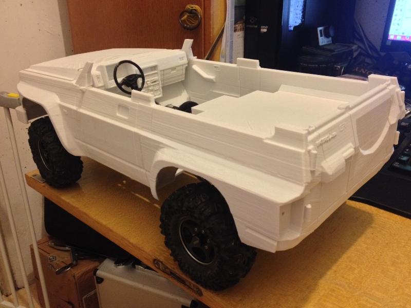 Axial SCX10 Nissan Patrol Y60 - ech:1/8 - Impression 3D Patrol-42
