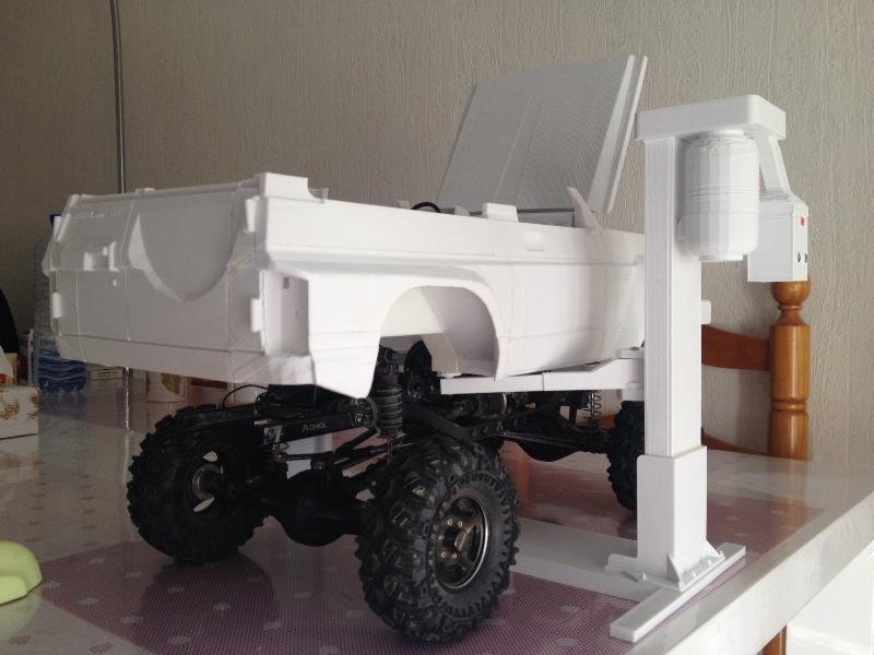Axial SCX10 Nissan Patrol Y60 - ech:1/8 - Impression 3D Patrol-44