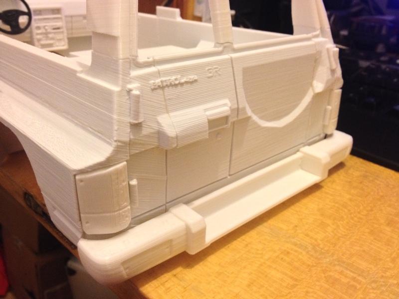 Axial SCX10 Nissan Patrol Y60 - ech:1/8 - Impression 3D Patrol-47