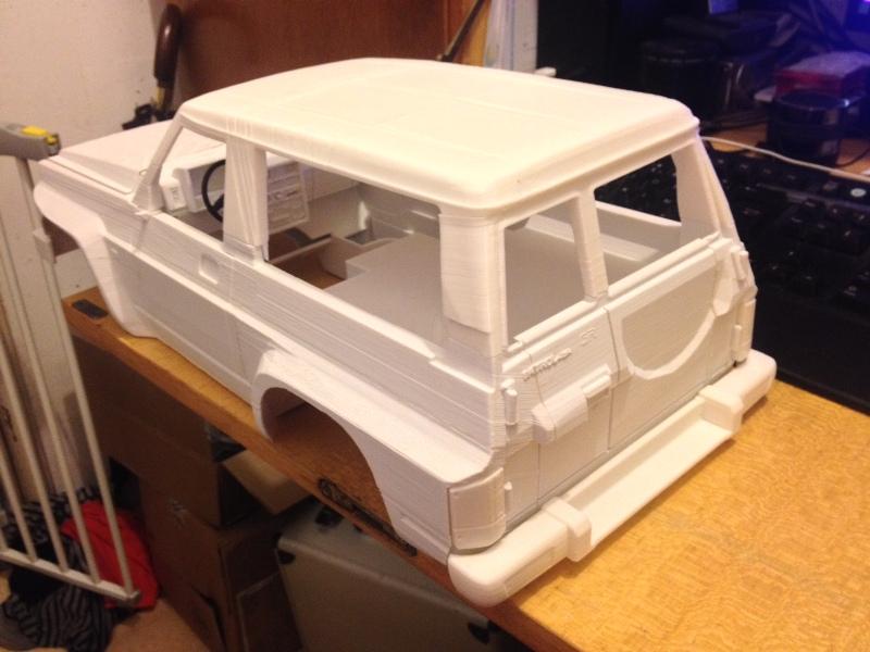 Axial SCX10 Nissan Patrol Y60 - ech:1/8 - Impression 3D Patrol-49