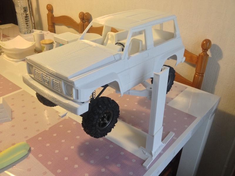 Axial SCX10 Nissan Patrol Y60 - ech:1/8 - Impression 3D Patrol-58