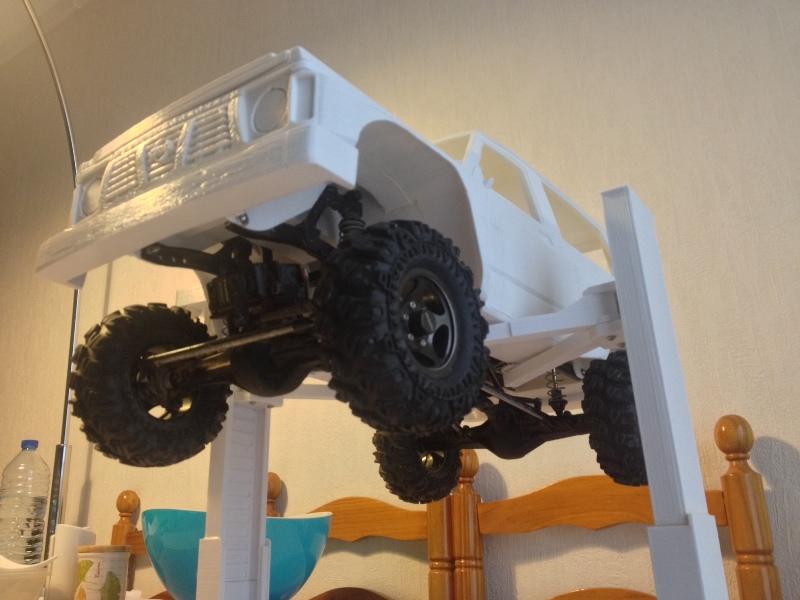 Axial SCX10 Nissan Patrol Y60 - ech:1/8 - Impression 3D Patrol-59