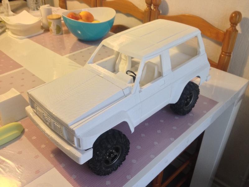 Axial SCX10 Nissan Patrol Y60 - ech:1/8 - Impression 3D Patrol-60
