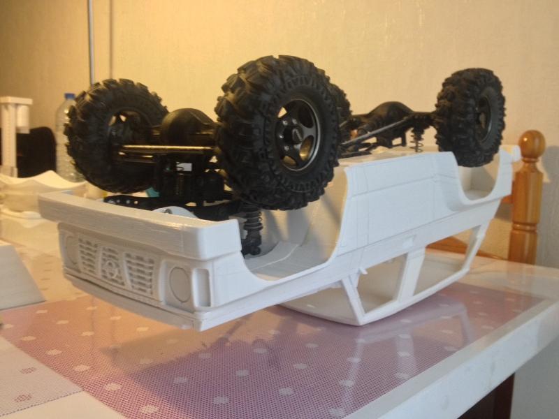 Axial SCX10 Nissan Patrol Y60 - ech:1/8 - Impression 3D Patrol-62