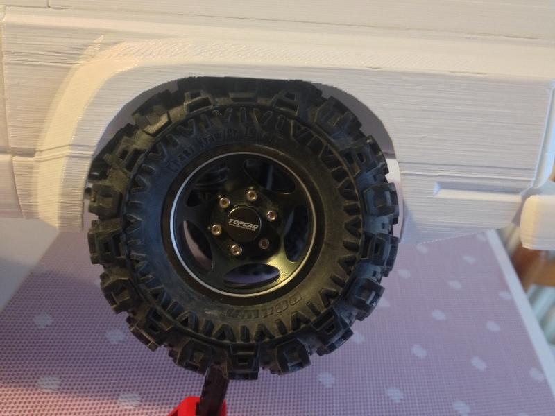 Axial SCX10 Nissan Patrol Y60 - ech:1/8 - Impression 3D Patrol-69