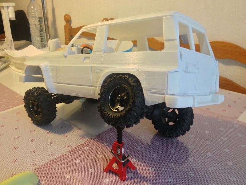 Axial SCX10 Nissan Patrol Y60 - ech:1/8 - Impression 3D Patrol-70