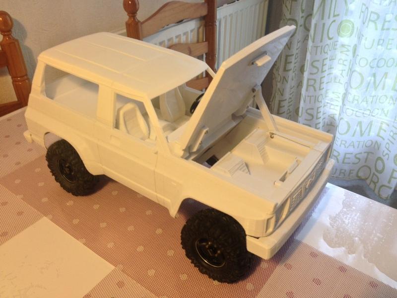 Axial SCX10 Nissan Patrol Y60 - ech:1/8 - Impression 3D Patrol-72