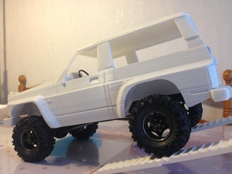 Axial SCX10 Nissan Patrol Y60 - ech:1/8 - Impression 3D Patrol-74
