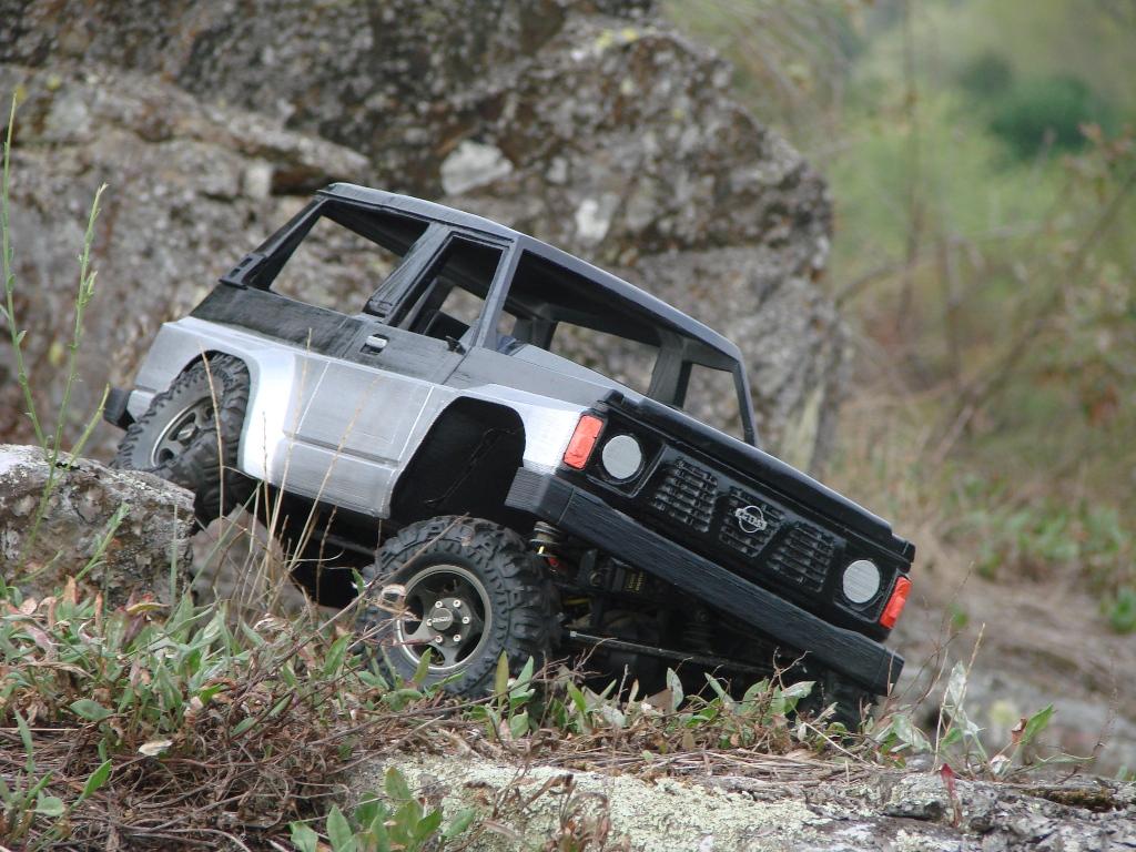 Axial SCX10 Nissan Patrol Y60 - ech:1/8 - Impression 3D Patrol-87