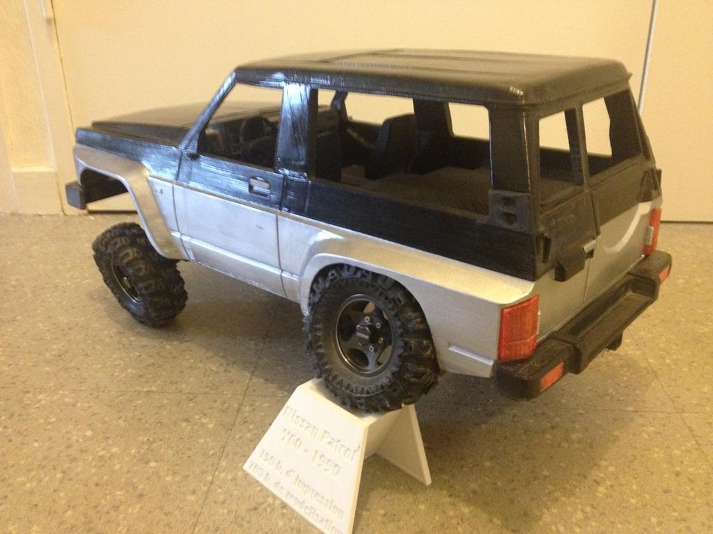 Axial SCX10 Nissan Patrol Y60 - ech:1/8 - Impression 3D Patrol-94