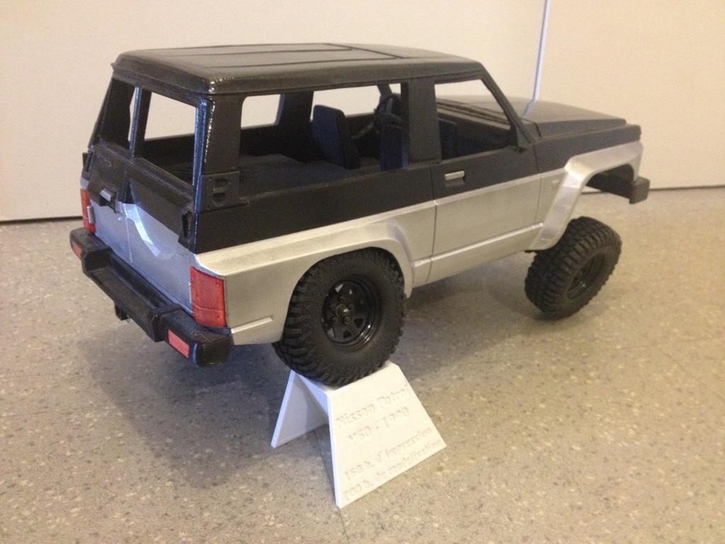 Axial SCX10 Nissan Patrol Y60 - ech:1/8 - Impression 3D Patrol-96
