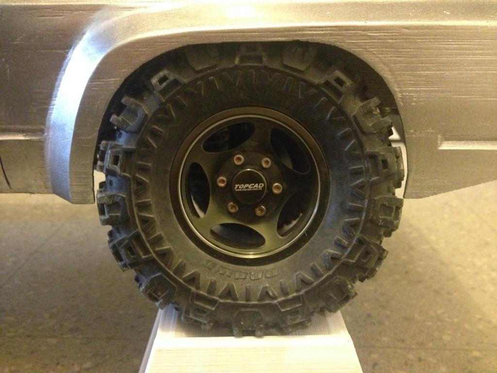 Axial SCX10 Nissan Patrol Y60 - ech:1/8 - Impression 3D Patrol-98