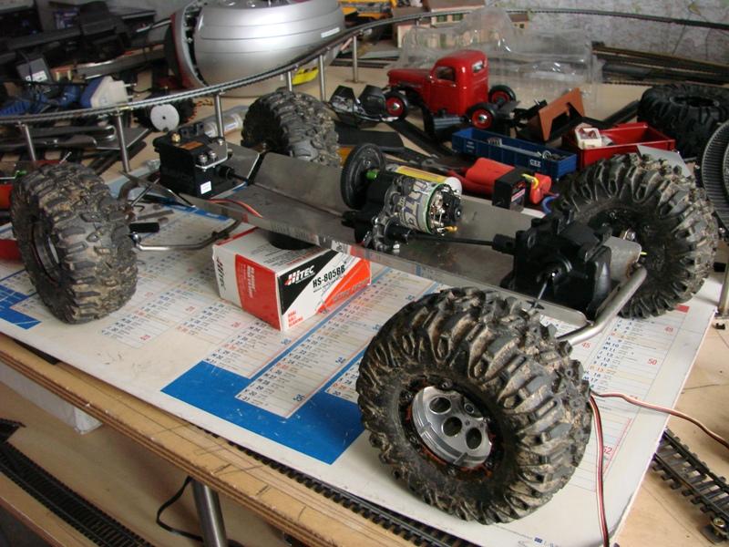 Proto Crawler Home made V.3 - 2010 010