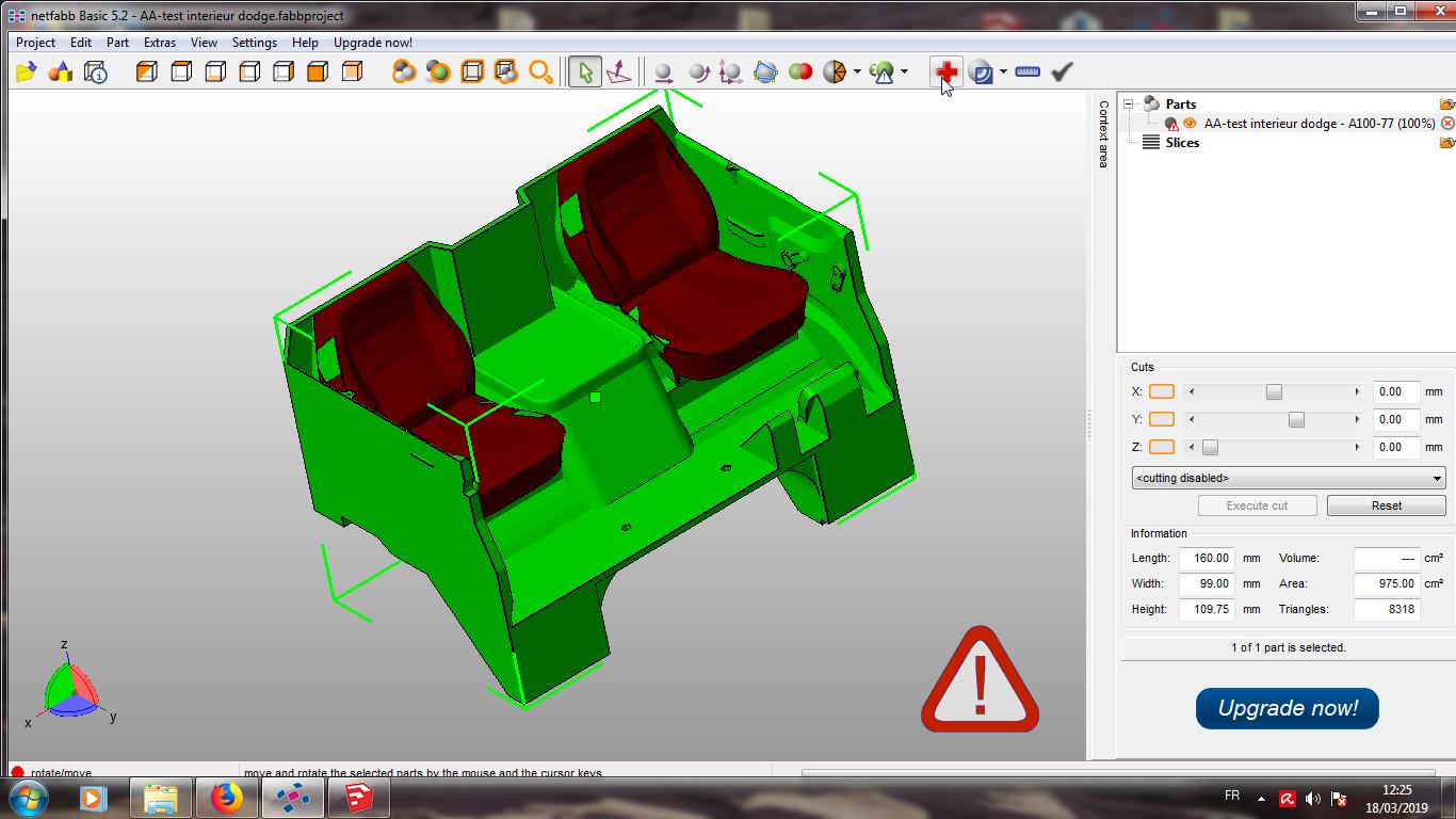 Modelisation 3D - Verifier et nettoyer un fichiers STL 07