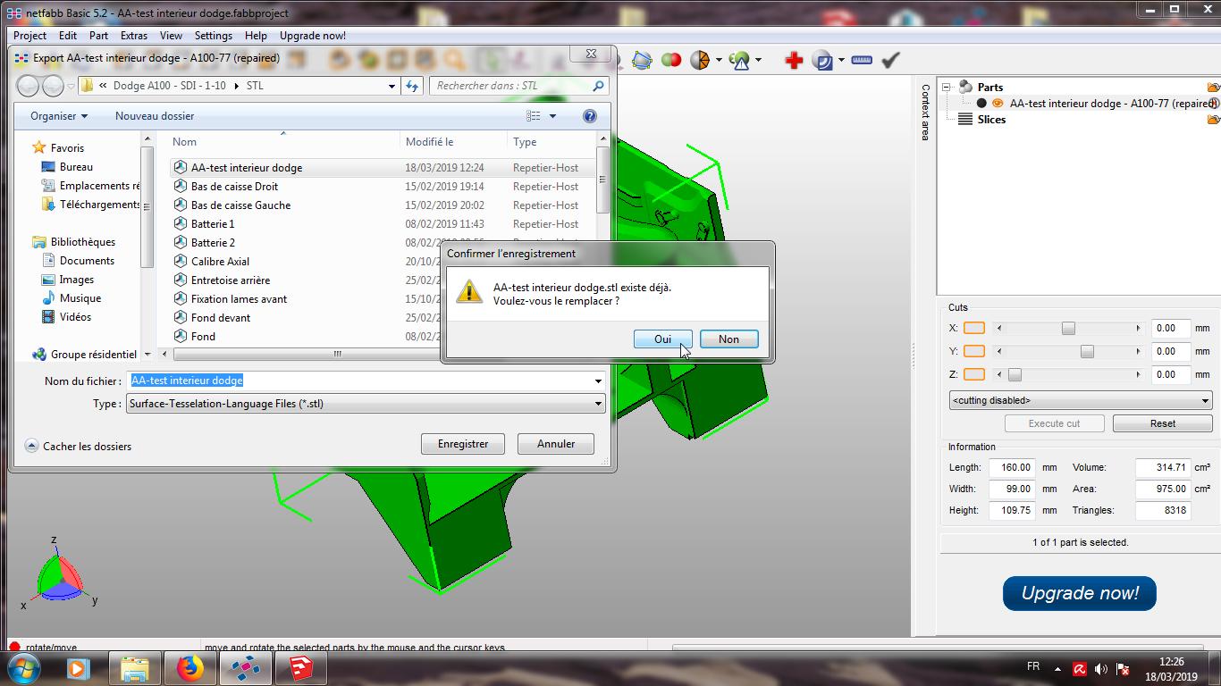 Modelisation 3D - Verifier et nettoyer un fichiers STL 15
