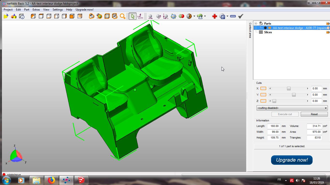 Modelisation 3D - Verifier et nettoyer un fichiers STL 16
