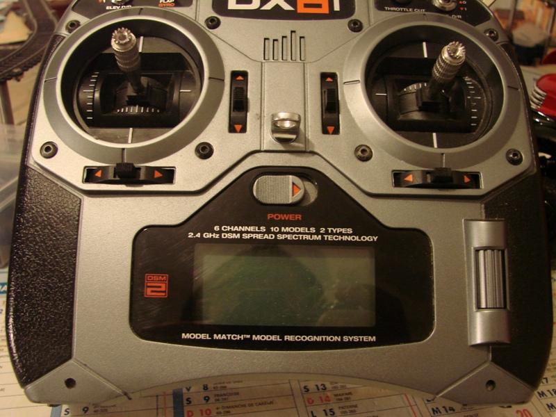 [Tuto] Radio Spectrum DX6i - Quelques astuces et reglages de base.  05