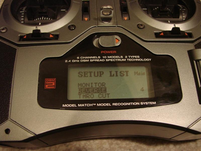 [Tuto] Radio Spectrum DX6i - Quelques astuces et reglages de base.  14