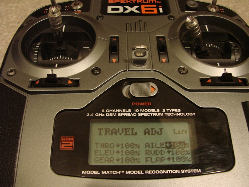 [Tuto] Radio Spectrum DX6i - Quelques astuces et reglages de base.  17
