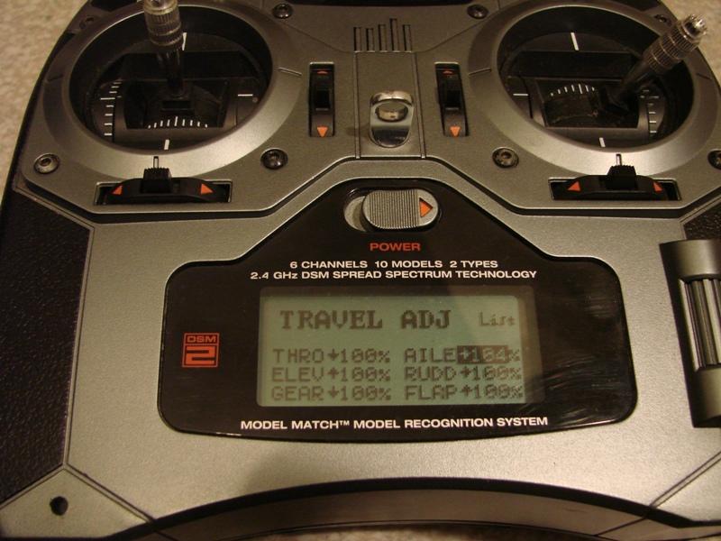 [Tuto] Radio Spectrum DX6i - Quelques astuces et reglages de base.  18