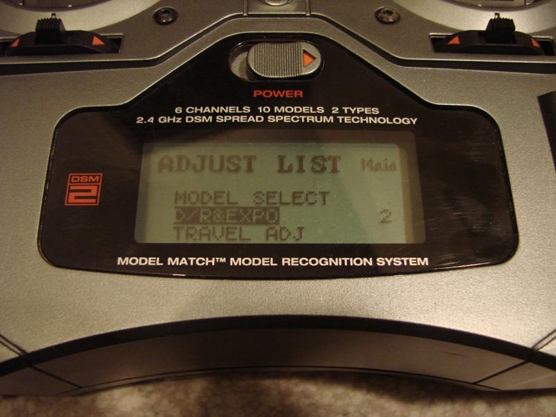 [Tuto] Radio Spectrum DX6i - Quelques astuces et reglages de base.  23