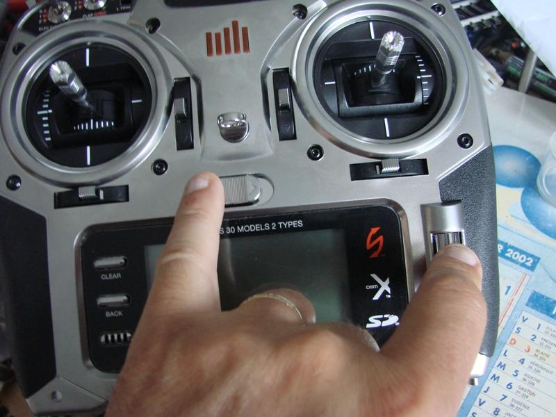 [Tuto] Radio Spectrum DX8 - Quelques astuces et reglages de base.  02