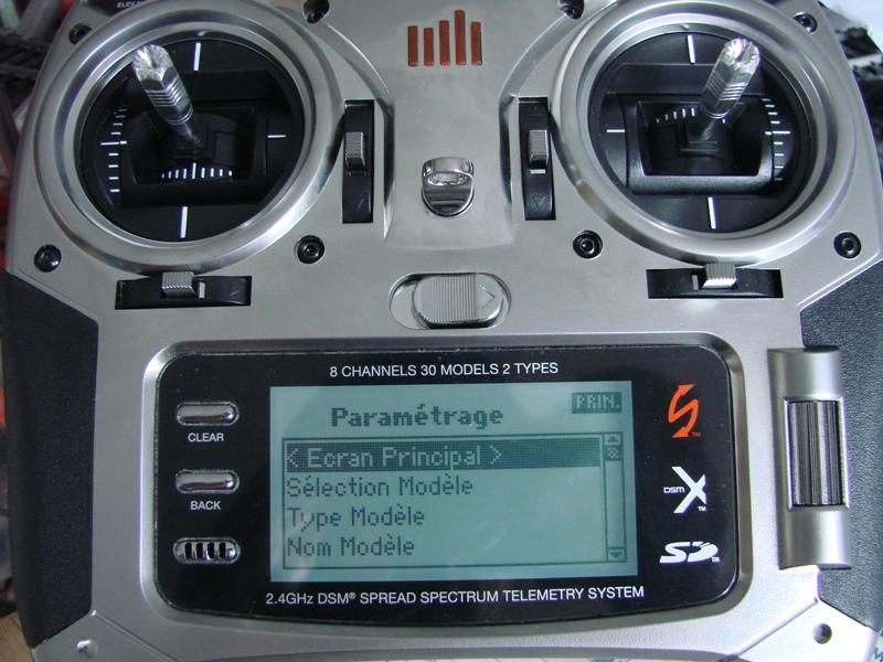 [Tuto] Radio Spectrum DX8 - Quelques astuces et reglages de base.  03