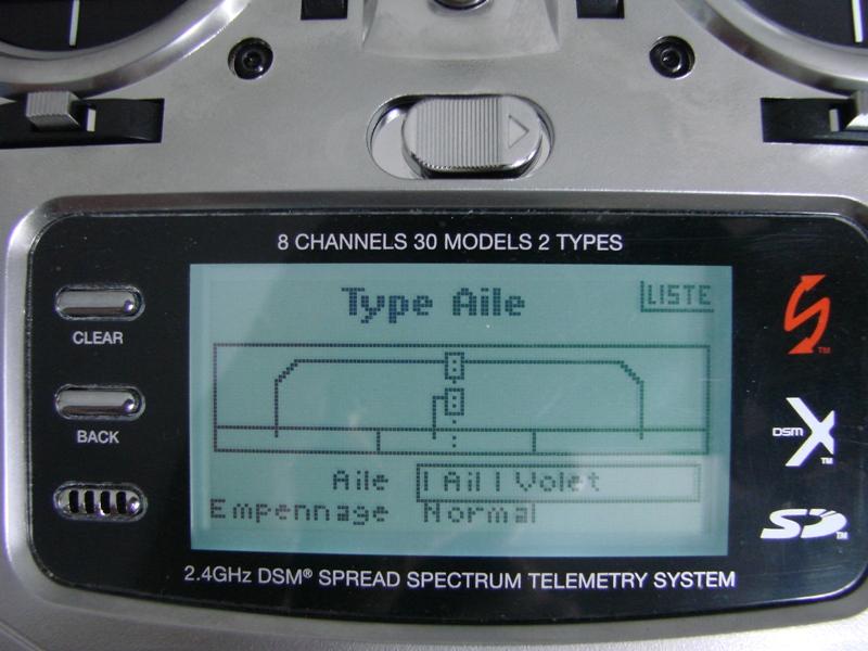 [Tuto] Radio Spectrum DX8 - Quelques astuces et reglages de base.  07