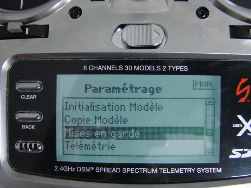 [Tuto] Radio Spectrum DX8 - Quelques astuces et reglages de base.  08