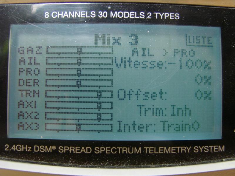 [Tuto] Radio Spectrum DX8 - Quelques astuces et reglages de base.  102