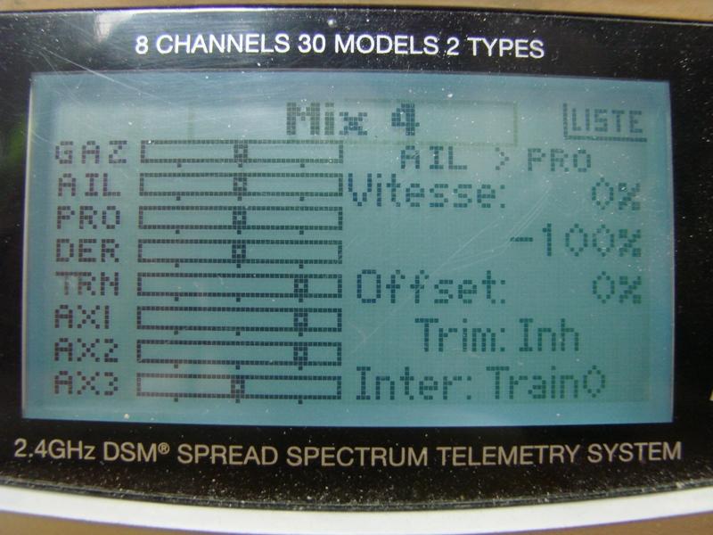 [Tuto] Radio Spectrum DX8 - Quelques astuces et reglages de base.  103