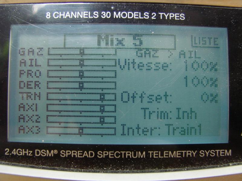 [Tuto] Radio Spectrum DX8 - Quelques astuces et reglages de base.  104