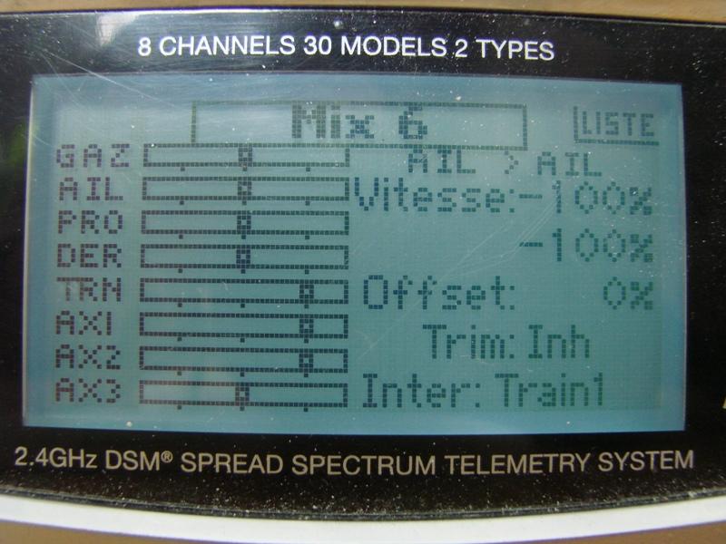 [Tuto] Radio Spectrum DX8 - Quelques astuces et reglages de base.  105