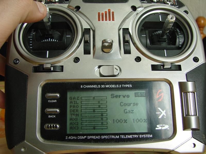 [Tuto] Radio Spectrum DX8 - Quelques astuces et reglages de base.  107