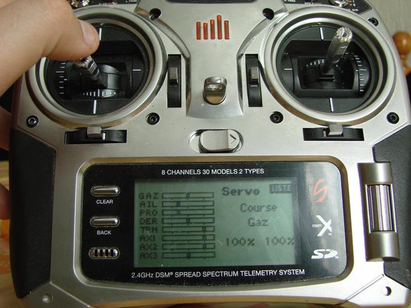 [Tuto] Radio Spectrum DX8 - Quelques astuces et reglages de base.  108