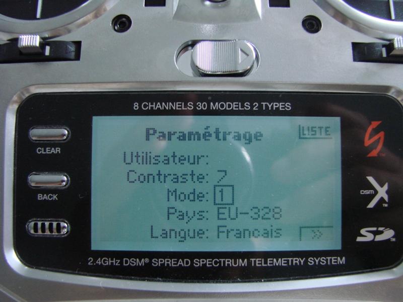 [Tuto] Radio Spectrum DX8 - Quelques astuces et reglages de base.  11