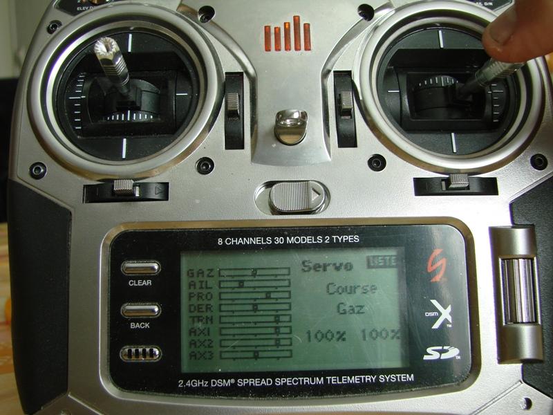 [Tuto] Radio Spectrum DX8 - Quelques astuces et reglages de base.  110