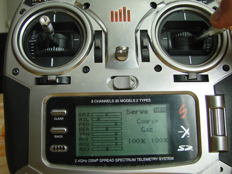 [Tuto] Radio Spectrum DX8 - Quelques astuces et reglages de base.  111