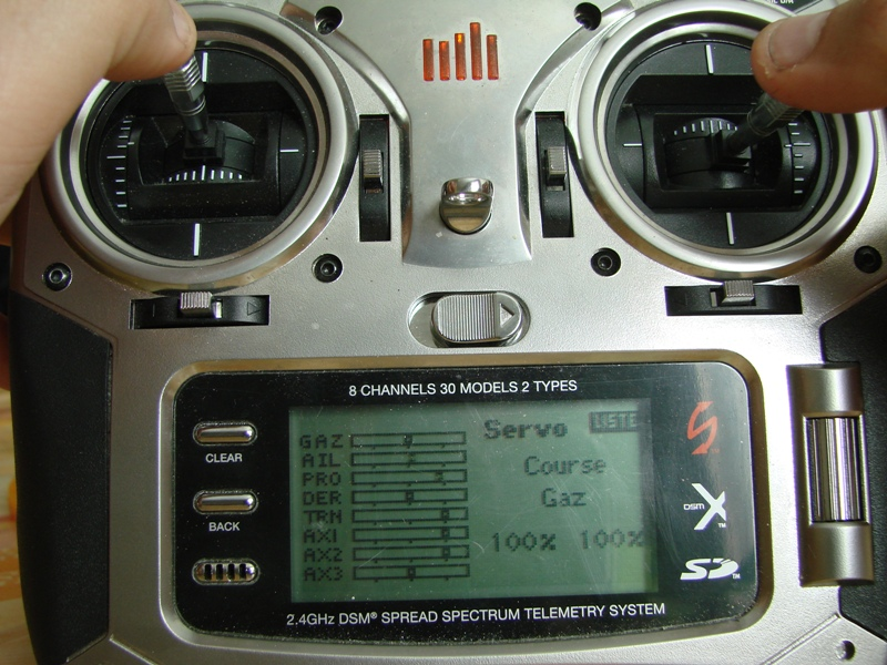 [Tuto] Radio Spectrum DX8 - Quelques astuces et reglages de base.  112