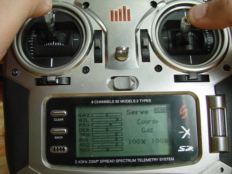 [Tuto] Radio Spectrum DX8 - Quelques astuces et reglages de base.  113