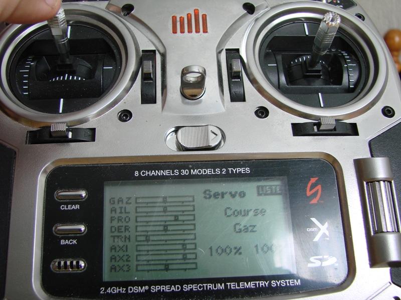 [Tuto] Radio Spectrum DX8 - Quelques astuces et reglages de base.  116