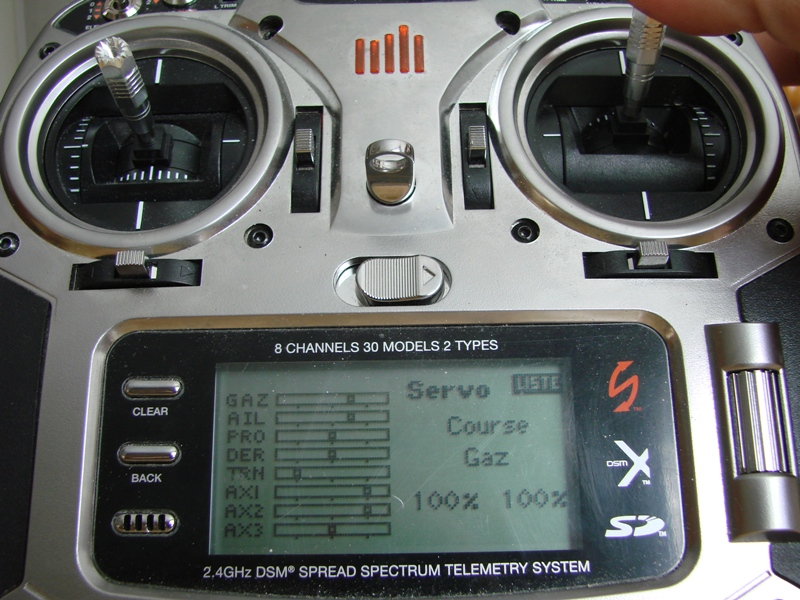 [Tuto] Radio Spectrum DX8 - Quelques astuces et reglages de base.  117