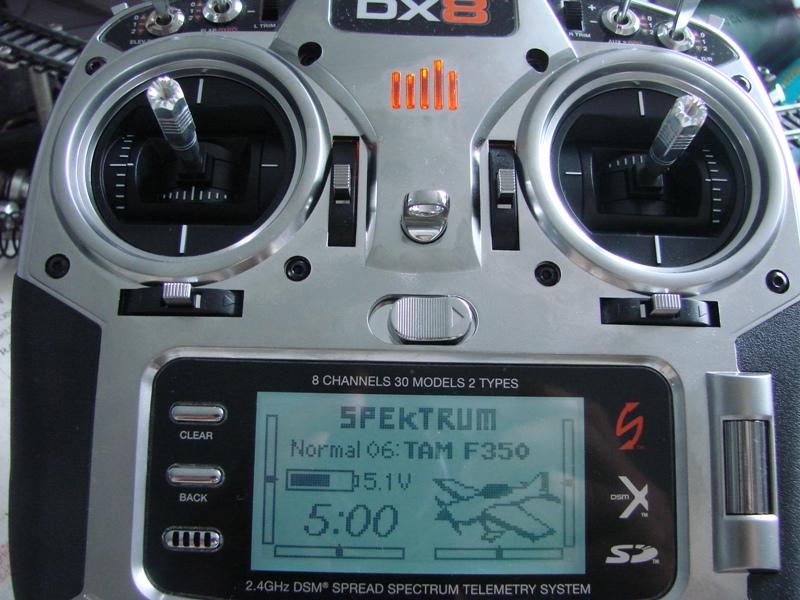 [Tuto] Radio Spectrum DX8 - Quelques astuces et reglages de base.  14