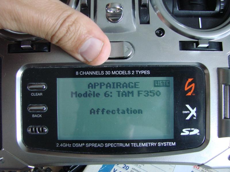 [Tuto] Radio Spectrum DX8 - Quelques astuces et reglages de base.  22